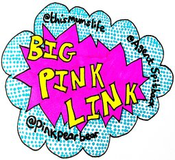Big Pink Link Badge Resized