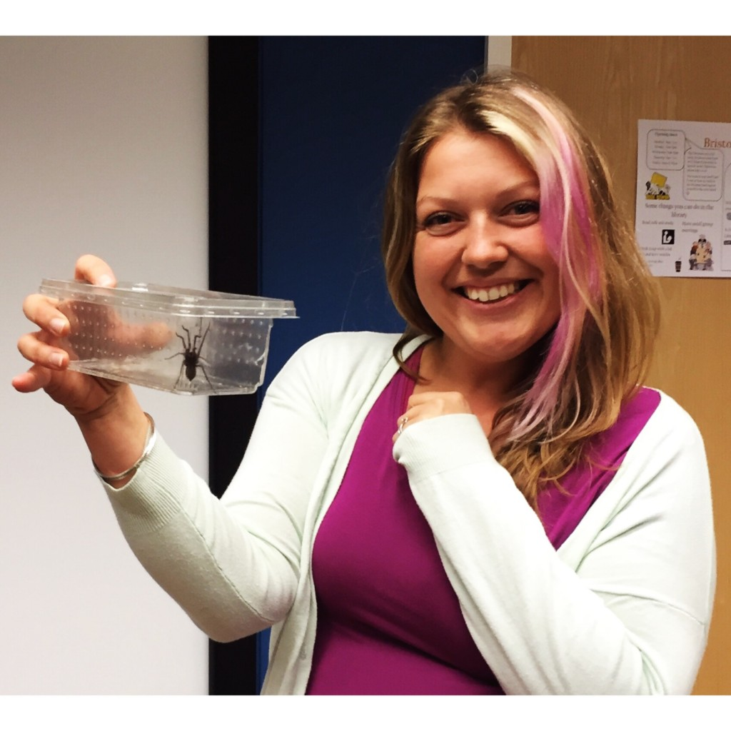 The arachnophobia therapy course even had me holding spiders in clear boxes and smiling!!