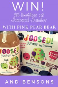 Joosed Junior fruit juice giveaway.
