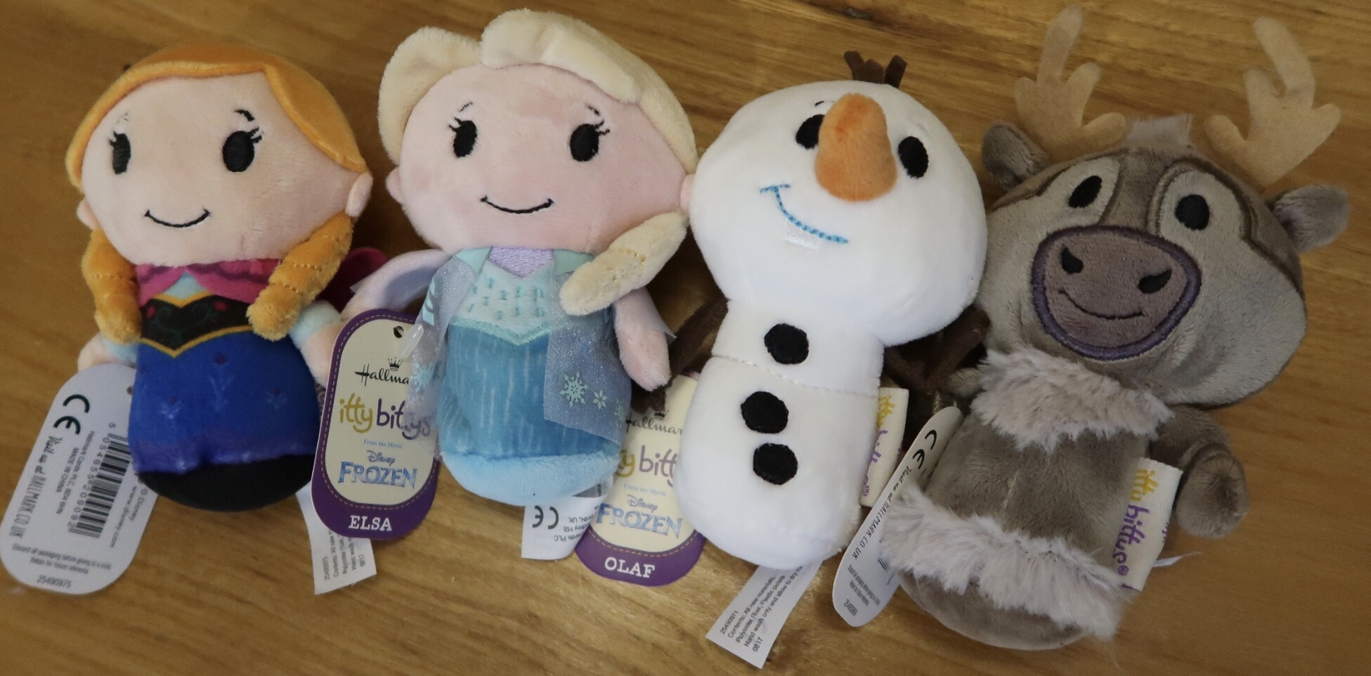 Frozen Itty Bitty toys.