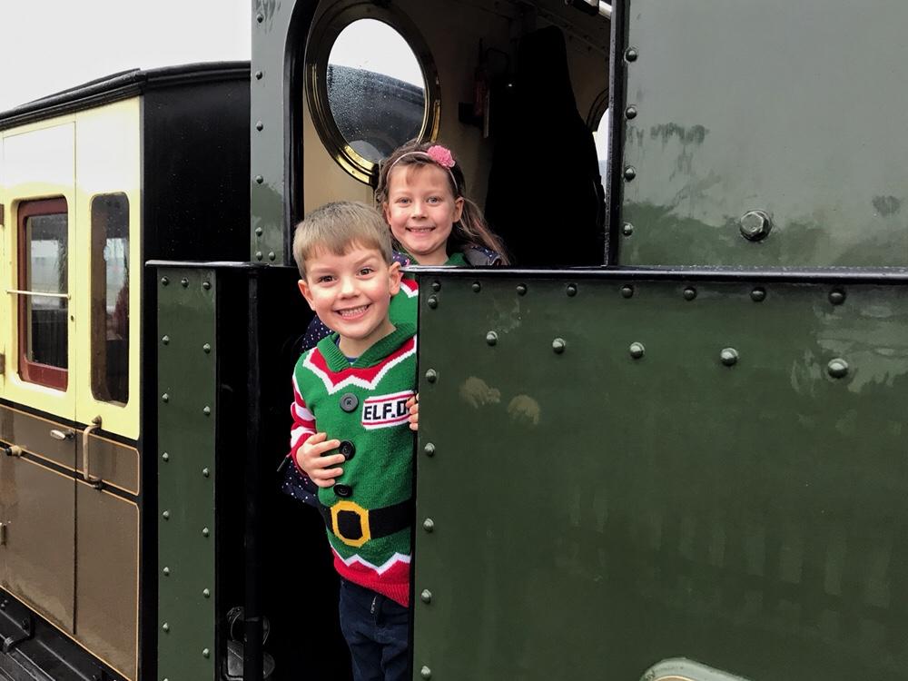 All aboard the Santa Train!