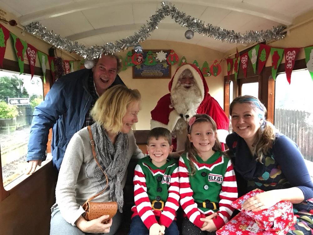 Santa Train at The Vale of Rheidol.