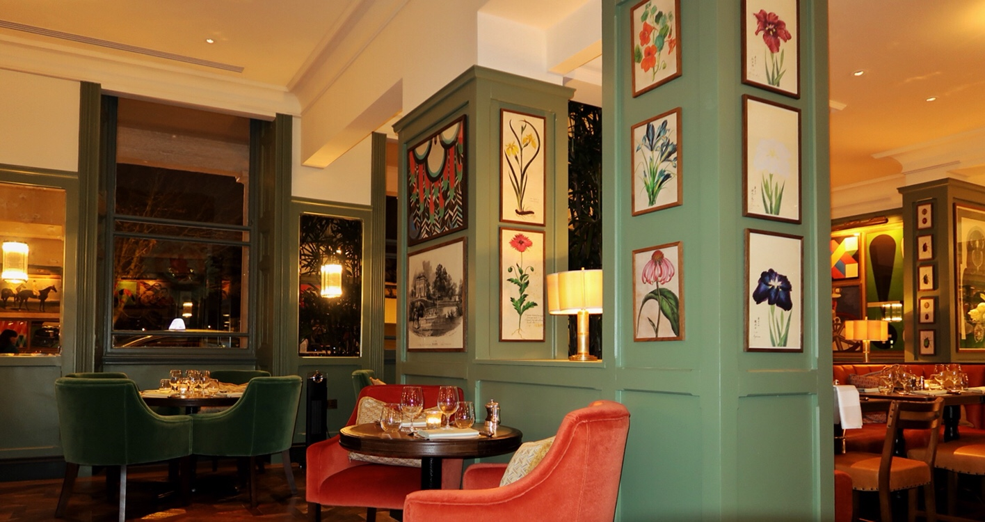 The dining area at the Ivy Cheltenham
