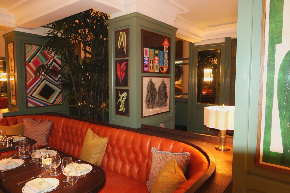 The dining area at the Ivy, Cheltenham