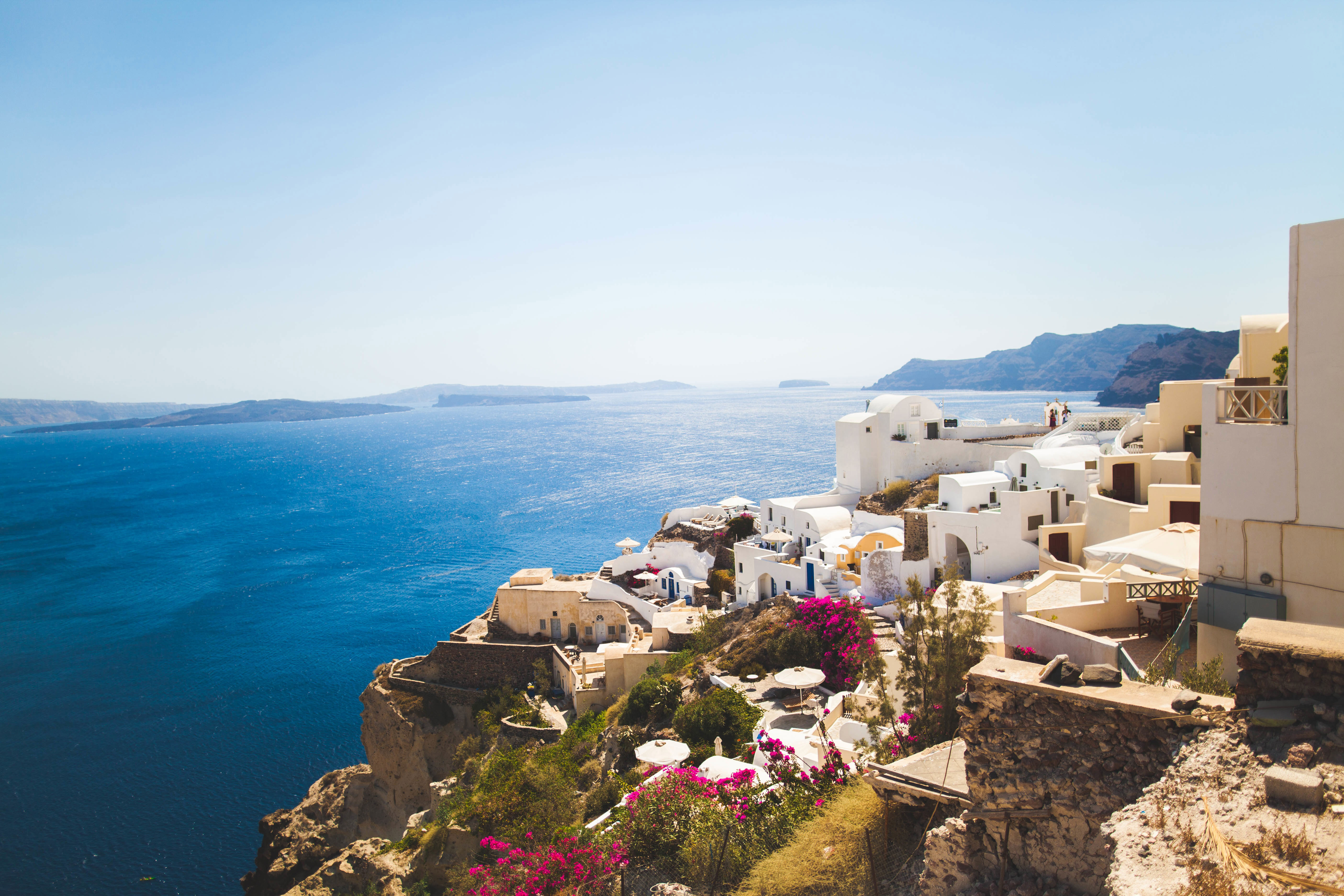 Summer Holiday. Greece or France?