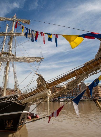 Gloucester Tall Ships are back for half term!