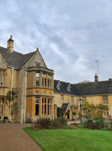 A night at The Lords Of The Manor Hotel